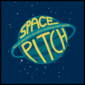 space pitch cover & logo
